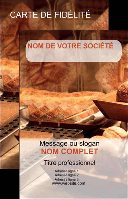Exemple Carte De Visite Boulangerie