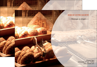 modele en ligne affiche boulangerie pain brioches boulangerie MLGI33262
