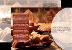 faire modele a imprimer depliant 3 volets  6 pages  boulangerie pain brioches boulangerie MLGI33266