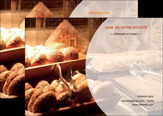 exemple flyers boulangerie pain brioches boulangerie MLGI33268