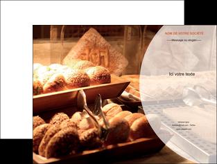 exemple pochette a rabat boulangerie pain brioches boulangerie MLGI33280