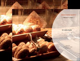 creation graphique en ligne pochette a rabat boulangerie pain brioches boulangerie MLGI33282