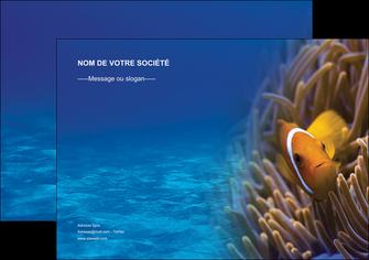 imprimer affiche paysage belle photo nemo poisson MLGI33448