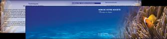 realiser depliant 2 volets  4 pages  paysage belle photo nemo poisson MIS33462