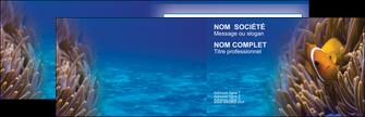 faire modele a imprimer carte de visite paysage belle photo nemo poisson MLGI33470