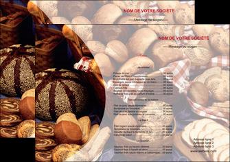 faire modele a imprimer set de table boulangerie pain boulangerie patisserie MLGI33518