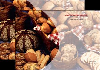 realiser affiche boulangerie pain boulangerie patisserie MLGI33522