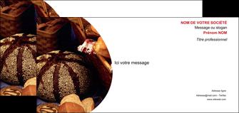maquette en ligne a personnaliser carte de correspondance boulangerie pain boulangerie patisserie MIF33528