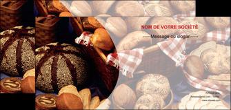 personnaliser maquette flyers boulangerie pain boulangerie patisserie MIF33530