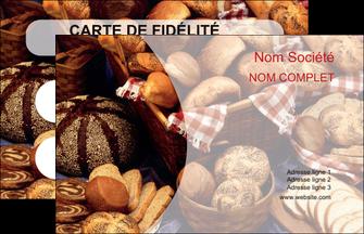 modele carte de visite boulangerie pain boulangerie patisserie MLGI33540