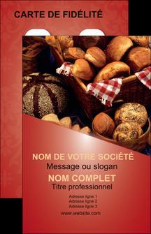 Maquette En Ligne A Personnaliser Carte De Visite Boulangerie Pain Patisserie MLGI33730