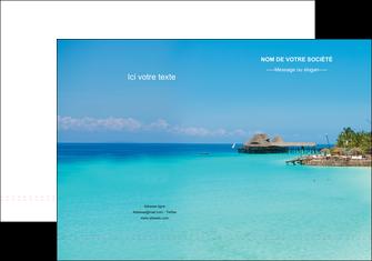 realiser pochette a rabat paysage plage vacances tourisme MLGI33826
