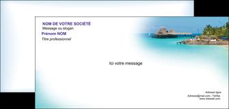 maquette en ligne a personnaliser carte de correspondance paysage plage vacances tourisme MLGI33834