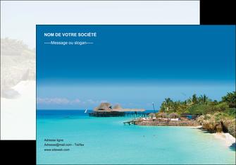 imprimerie affiche paysage plage vacances tourisme MLGI33836
