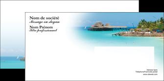creation graphique en ligne enveloppe paysage plage vacances tourisme MLGI33844