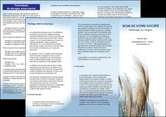 personnaliser maquette depliant 3 volets  6 pages  paysage plante nature ciel MLGI33914