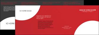 faire modele a imprimer depliant 4 volets  8 pages  texture contexture structure MIF33922