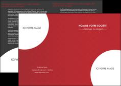 creer modele en ligne depliant 2 volets  4 pages  texture contexture structure MLGI33928