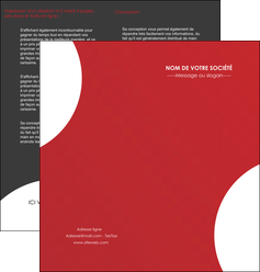 imprimer depliant 2 volets  4 pages  texture contexture structure MIF33930
