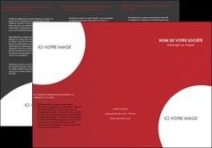 cree depliant 3 volets  6 pages  texture contexture structure MIF33936