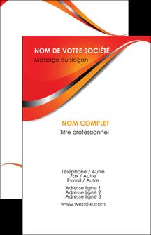 Commander Carte de visite avec logo entreprise ou société  papier publicitaire et imprimerie Carte de visite - Portrait