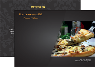 creation graphique en ligne flyers pizzeria et restaurant italien pizza pizzeria restaurant italien MLGI34008