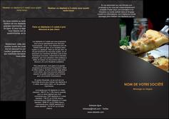 personnaliser maquette depliant 3 volets  6 pages  pizzeria et restaurant italien pizza pizzeria restaurant italien MLGI34010