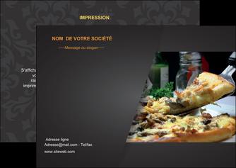 personnaliser modele de flyers pizzeria et restaurant italien pizza pizzeria restaurant italien MLGI34012