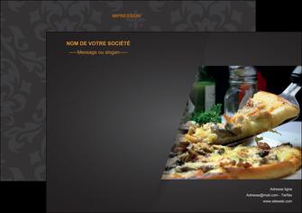 faire flyers pizzeria et restaurant italien pizza pizzeria restaurant italien MLGI34018