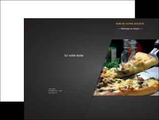 personnaliser maquette pochette a rabat pizzeria et restaurant italien pizza pizzeria restaurant italien MLGI34024