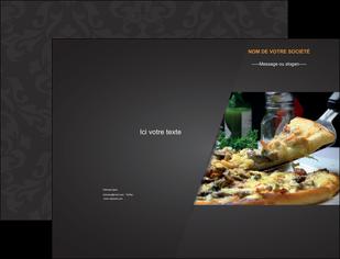 creer modele en ligne pochette a rabat pizzeria et restaurant italien pizza pizzeria restaurant italien MLGI34026