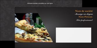 impression enveloppe pizzeria et restaurant italien pizza pizzeria restaurant italien MLGI34032