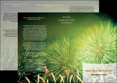 realiser depliant 3 volets  6 pages  artificier feu dartifice artifice MIS34086
