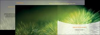 personnaliser maquette depliant 2 volets  4 pages  artificier feu dartifice artifice MIS34096