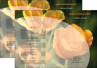 faire set de table agriculture fleurs bouquetier horticulteur MLGI34116