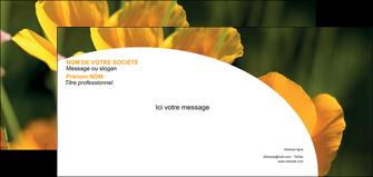 cree carte de correspondance agriculture fleurs bouquetier horticulteur MLIP34126