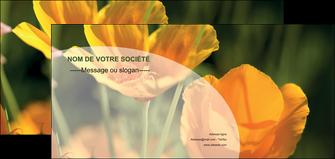 creation graphique en ligne flyers agriculture fleurs bouquetier horticulteur MLIP34128