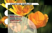 realiser carte de visite agriculture fleurs bouquetier horticulteur MLGI34138