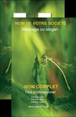 modele en ligne carte de visite nature animal nature verte MLGI34228