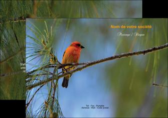 exemple flyers paysage nature parc naturel animaux parc naturel des oiseaux MLGI34260