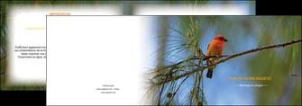 cree depliant 2 volets  4 pages  paysage nature parc naturel animaux parc naturel des oiseaux MLGI34272