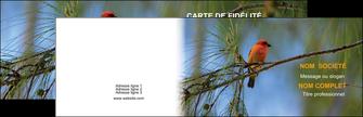 personnaliser maquette carte de visite paysage nature parc naturel animaux parc naturel des oiseaux MLGI34282
