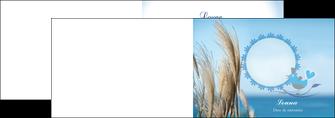 imprimer depliant 2 volets  4 pages  paysage plante nature ciel MLGI34316