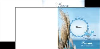 impression depliant 2 volets  4 pages  paysage plante nature ciel MLGI34324