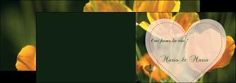 imprimerie depliant 2 volets  4 pages  faire part de mariage invitation de mariage carton invitation de mariage MLGI34336