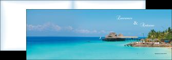 modele en ligne depliant 2 volets  4 pages  paysage faire part de mariage carte de mariage invitation mariage MLGI34342