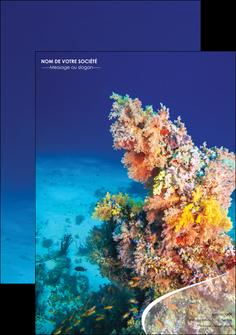 faire affiche plongee  plongee plongee sous marine centre de plongee MLGI34360