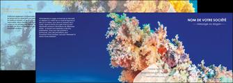 imprimer depliant 4 volets  8 pages  plongee  plongee plongee sous marine centre de plongee MLGI34368