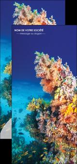 personnaliser maquette flyers plongee  plongee plongee sous marine centre de plongee MLGI34376