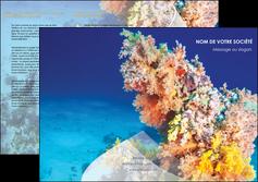 impression depliant 3 volets  6 pages  plongee  plongee plongee sous marine centre de plongee MLGI34382
